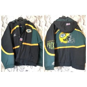 Vintage Proline NFL Green Bay Packers Puffer RARE